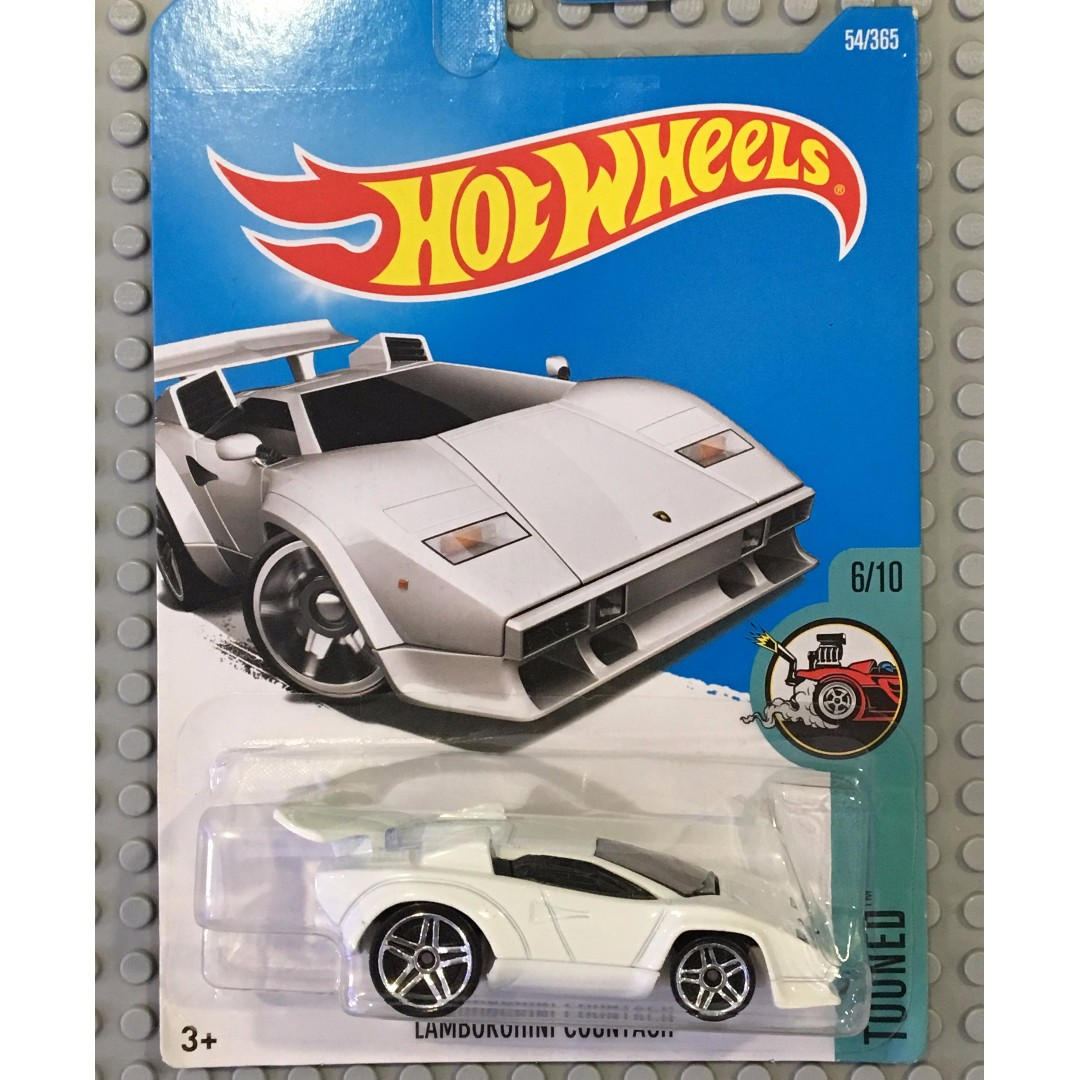 lamborghini countach hot wheels mattel tooned, toys & games, other
