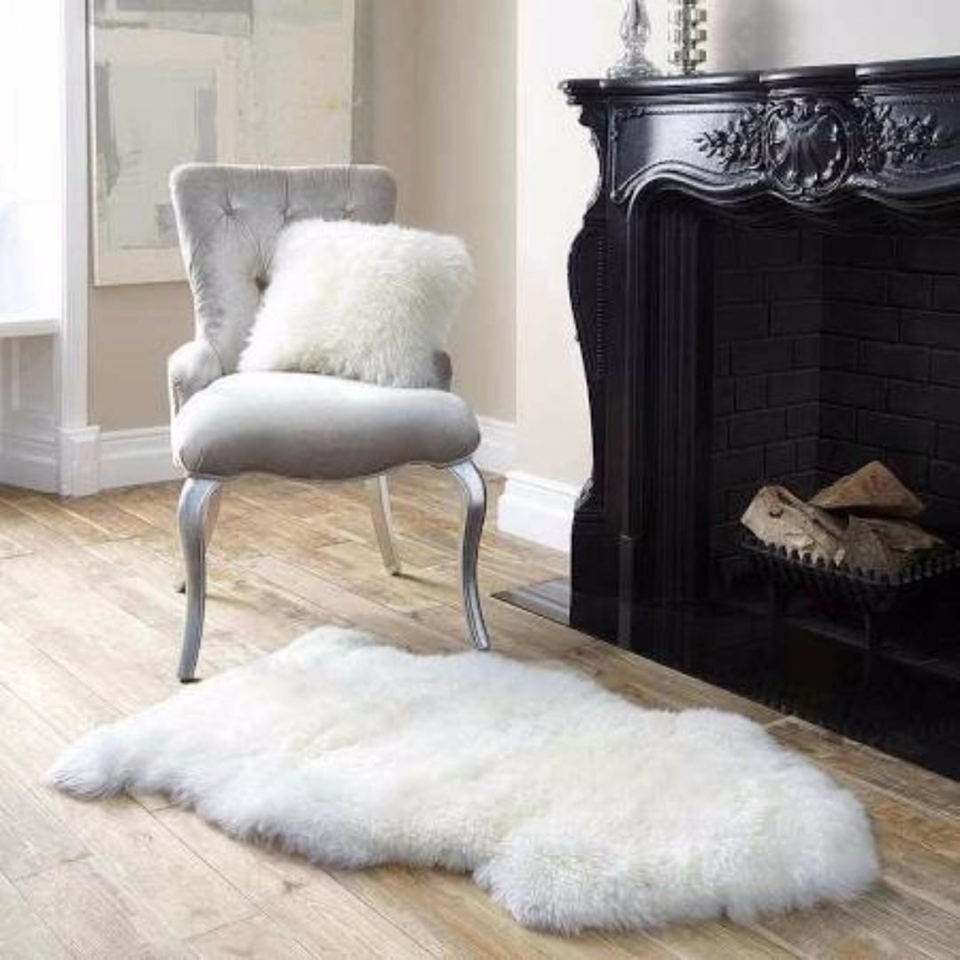 Lambskin Soft 95cm Long Wool Rug