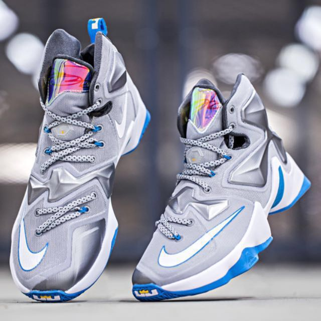 low priced 6f8ad 4681d LEBRON 13  BLUE LAGOON  (CLEARANCE SALE), Men s Fashion, Footwear on ...