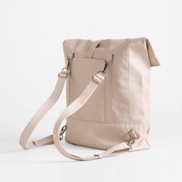 LEE COREN backpack in nude
