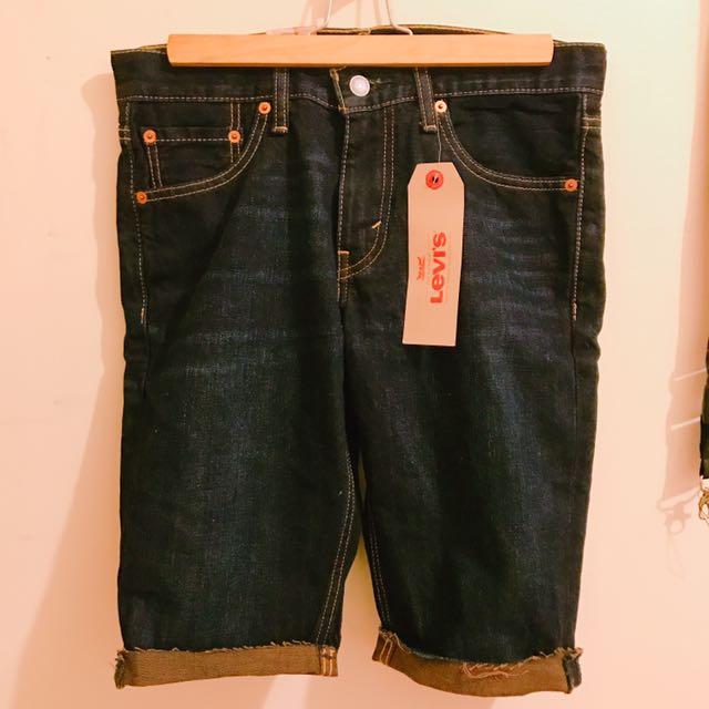 全新✨Levi's 牛仔短褲