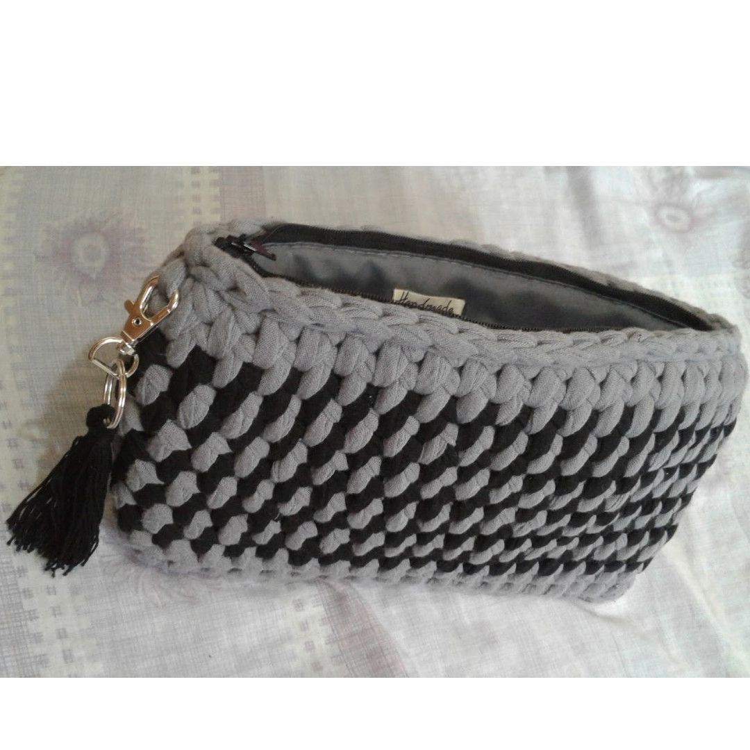 Made to Order Crochet Handmade Clutch Bag