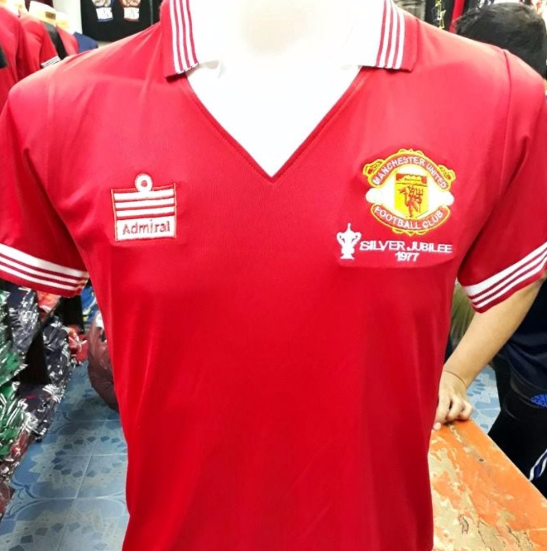 finest selection f9a36 6c83e MANCHESTER UNITED KIT (RETRO) GRED COpy ori SS S M L XL 2XL 3XL 4XL 5XL 6XL  & 7XL