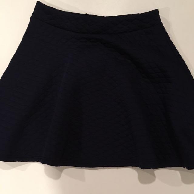 Marine blue uniform skirt