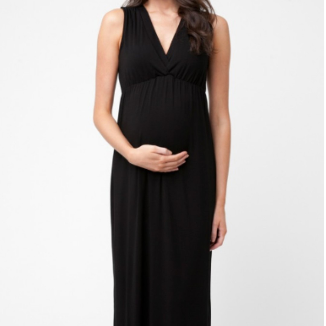 Maternity Dress - Ripe Virtue Nursing Maxi Dress