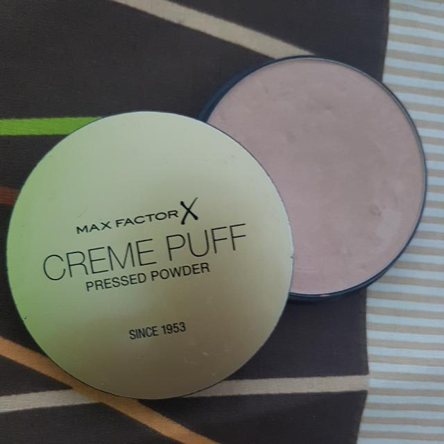 Max Factor X Creme Puff Pressed Powder