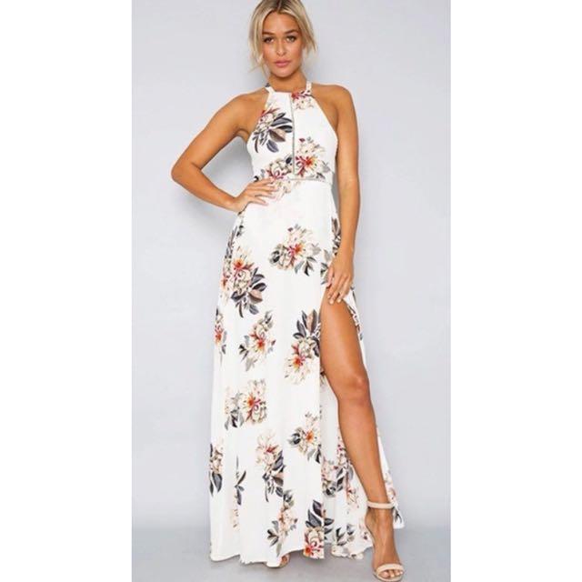 Maxi Boho Fl Summer Beach Evening Dress Women S Fashion Clothes Dresses Skirts On Carou