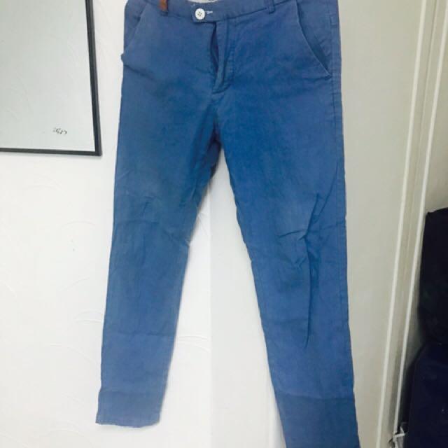 Men used pants