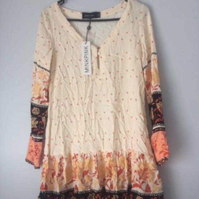 MiniPink Dress