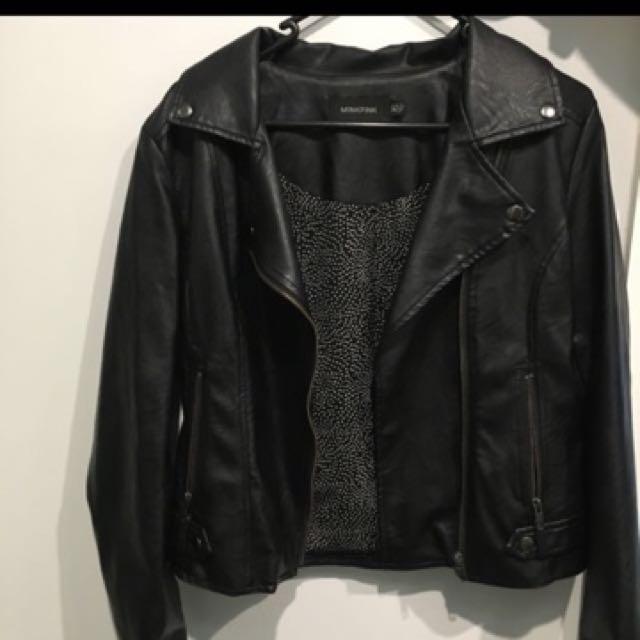Minkpink Leather Jacket