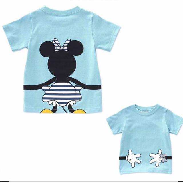 Minnie t shirt and shirt set