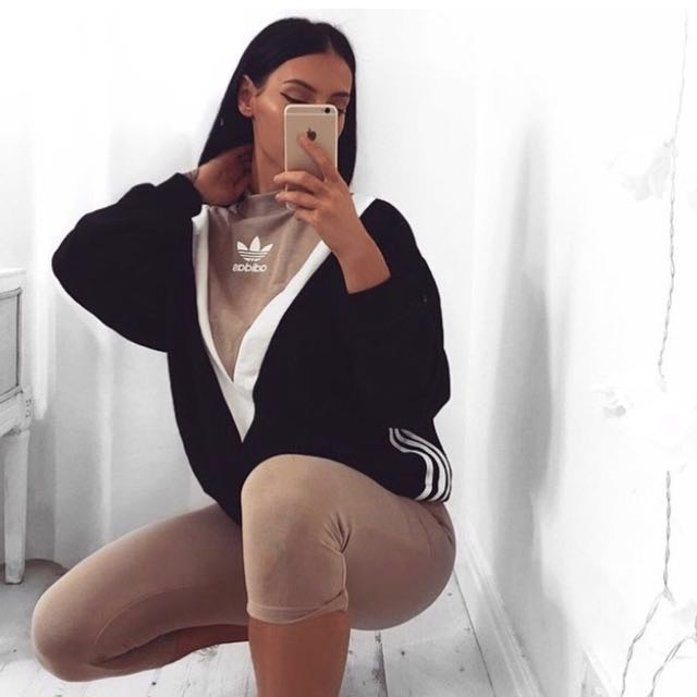Mint adidas chevron sweater paid 142$