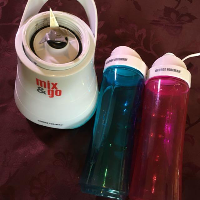 Mix&go w/2 bottles