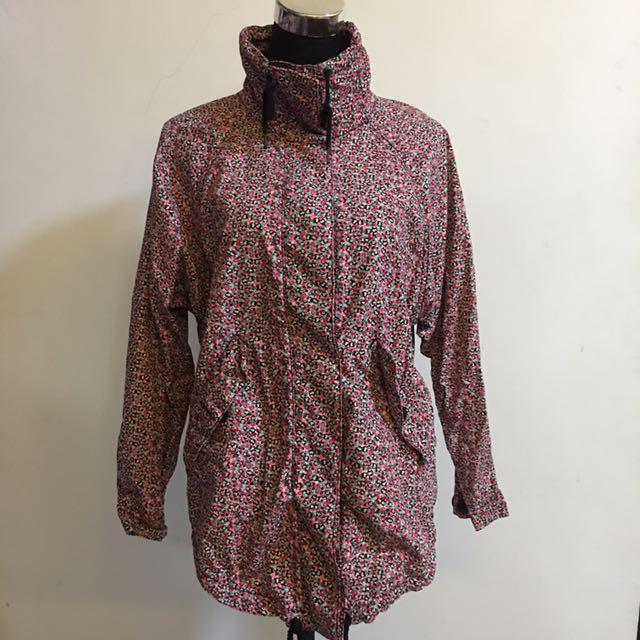 Monki Floral jacket / parka / coverup / outerwear