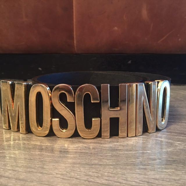 Moschino women's belt