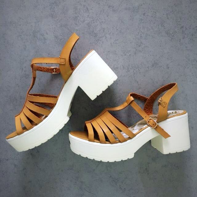 New Celine Chunky Platform Sandals