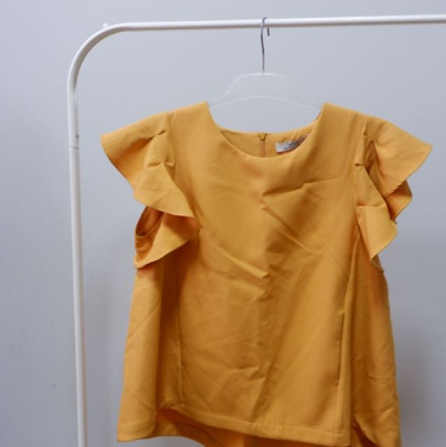 (NEW) Yellow Top By Mille