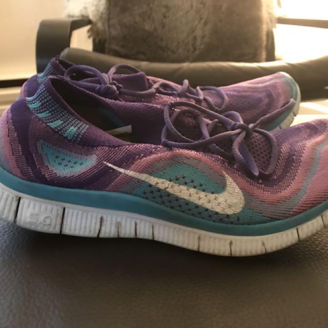 Nike free-knit runners