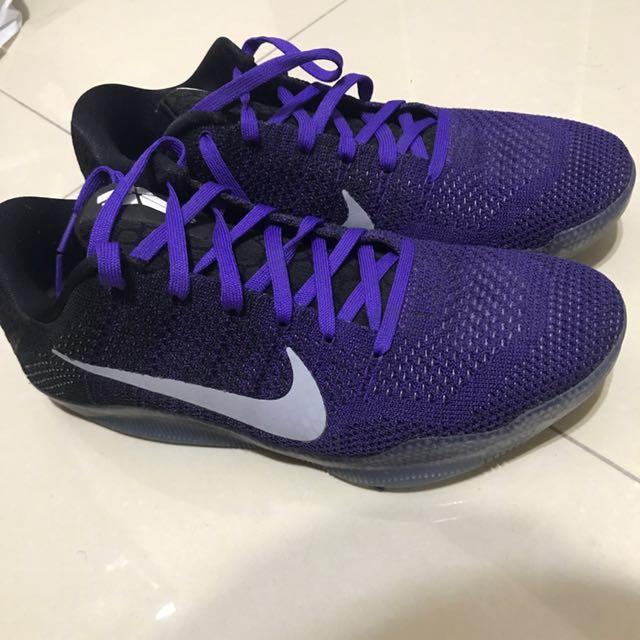 Nike Kobe Us 9.5 紫黑 果凍底