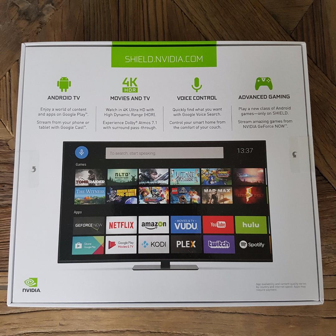NVIDIA Shield 2017 - Android TV