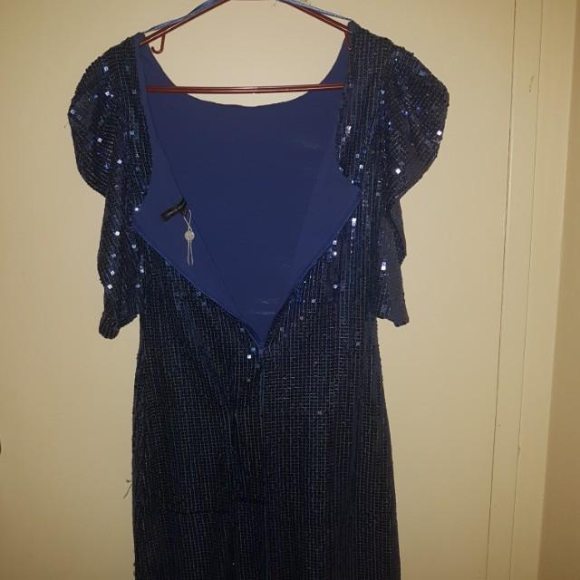 NYE! Blue dress