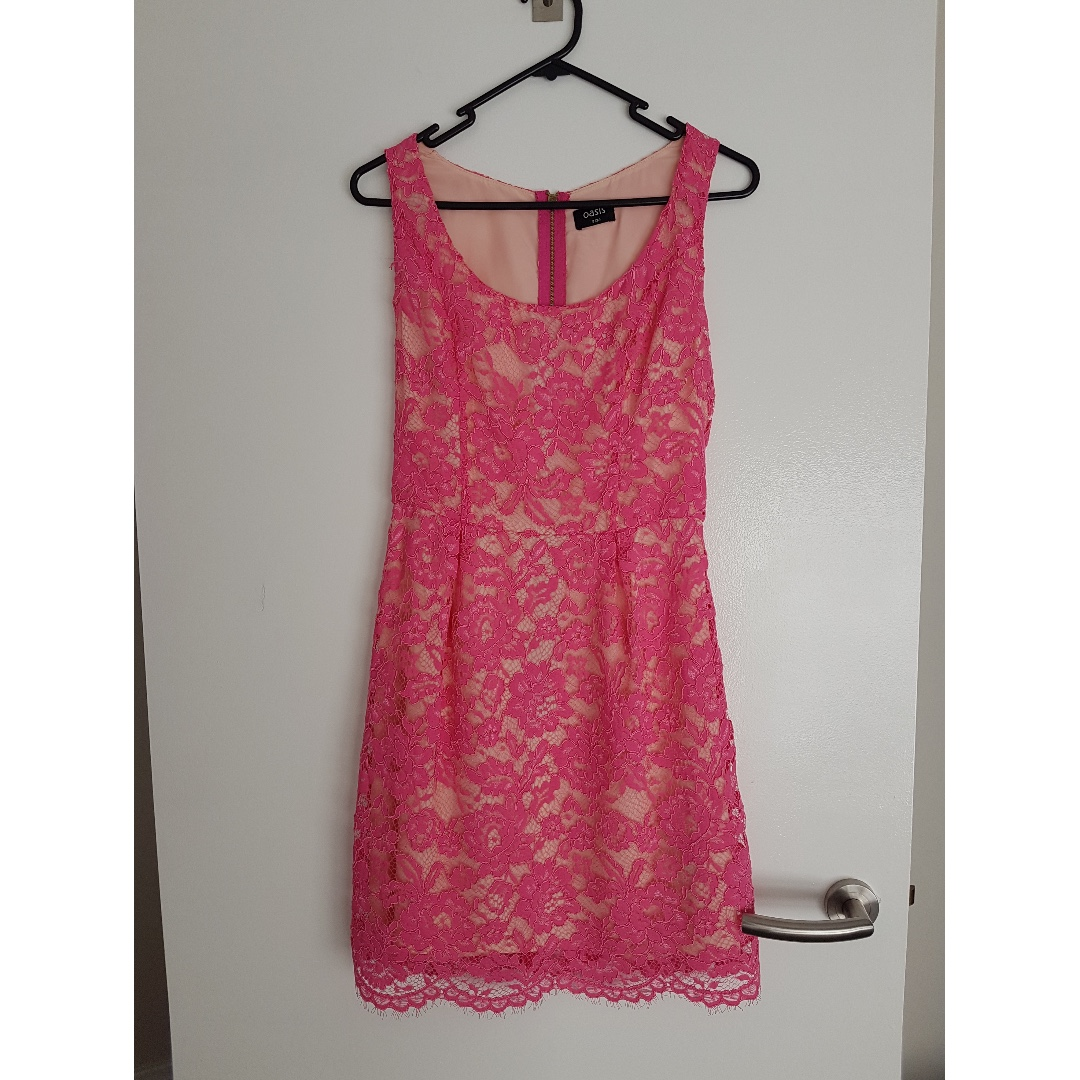 OASIS LADIES LACE DRESS UK SIZE 8