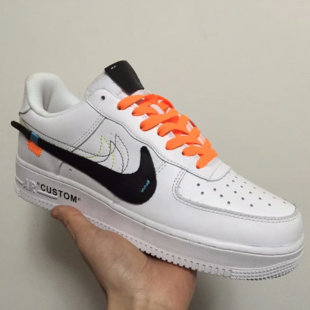 Off White X Nike Air Force 1 Custom