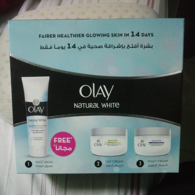 Olay natural white Original (set)