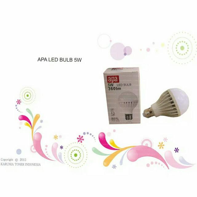 Open Barter / Sale Lampu LED Apa 5watt