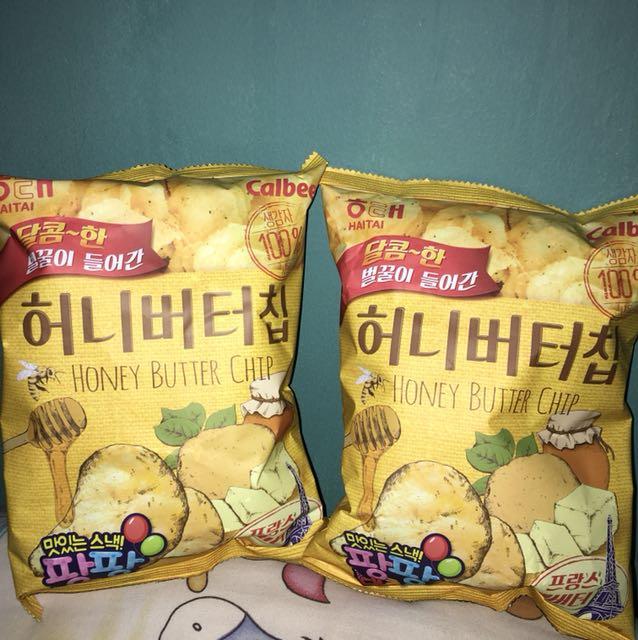 Open po honey chips