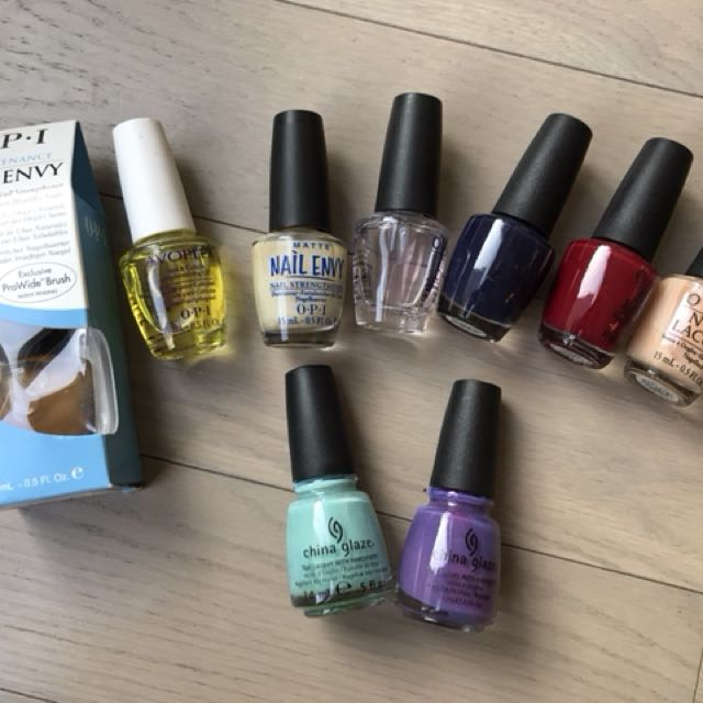 OPI and China Glaze nail polish lot/bundle, Health & Beauty, Nail ...