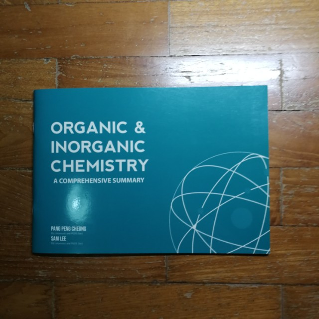 Organic & Inorganic Chemistry – A Comprehensive Summary
