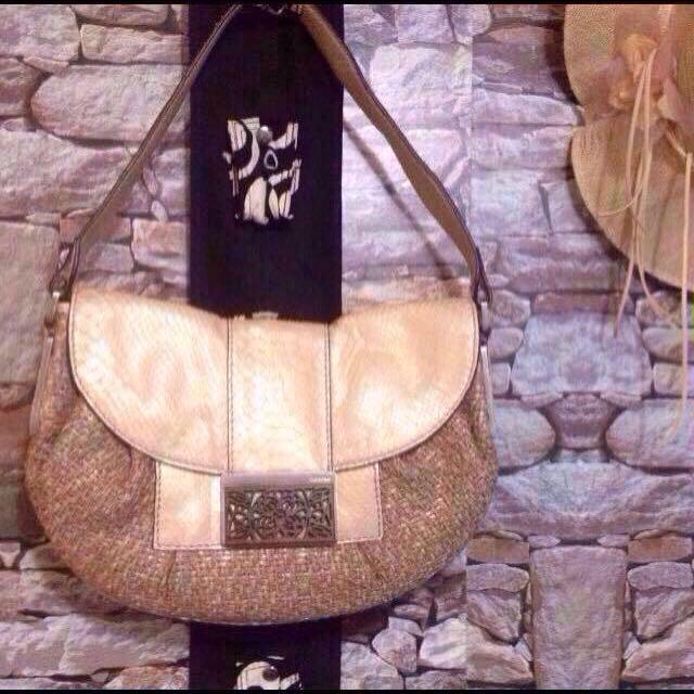 Original Calvin Klein Snakeskin Hobo Bag