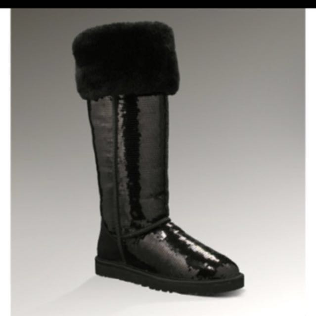 Over the knee uggs size 6