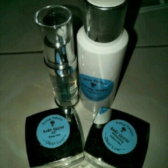 Paket Pelicin Babyglow Forte ( smoothing )
