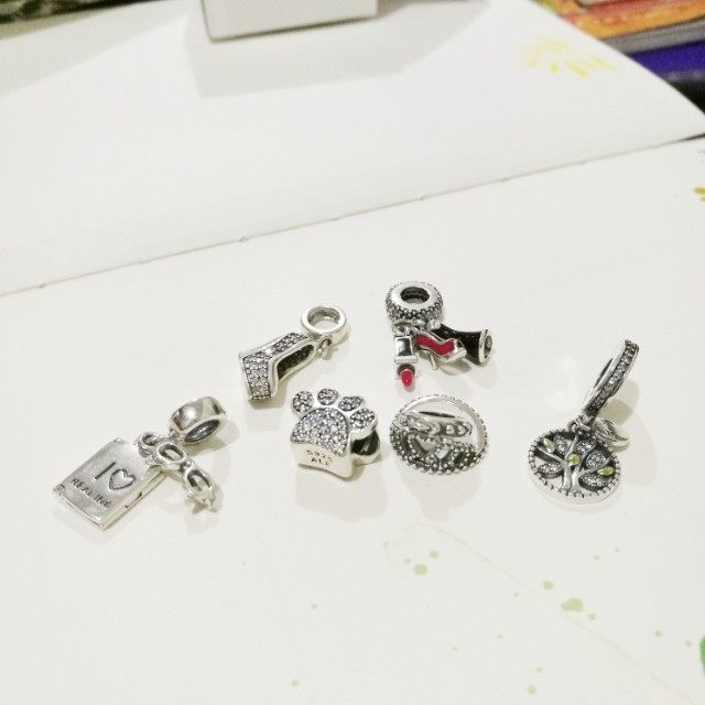 Pandora charms (authentic silver)