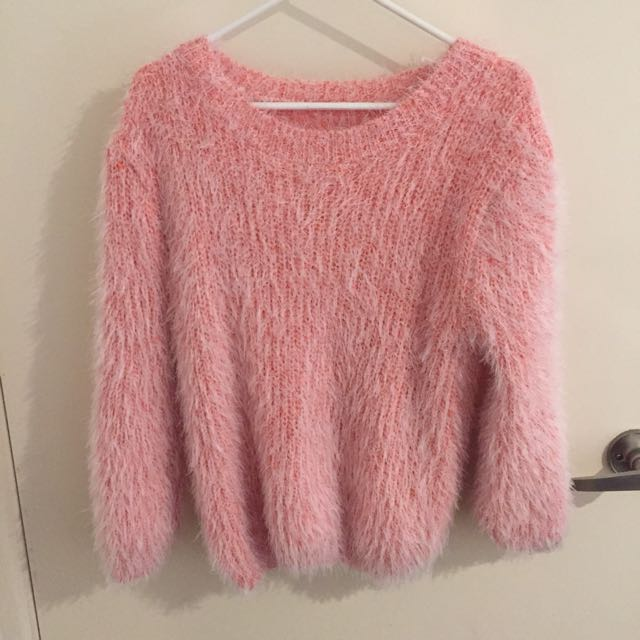 Pink Knitted Wear