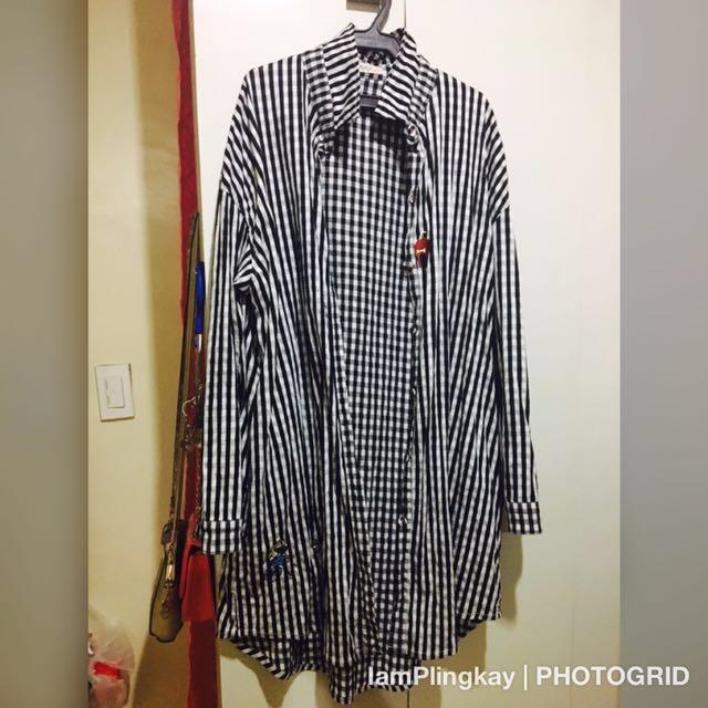 Plus Size Long Sleeve Polo (2-3xl)