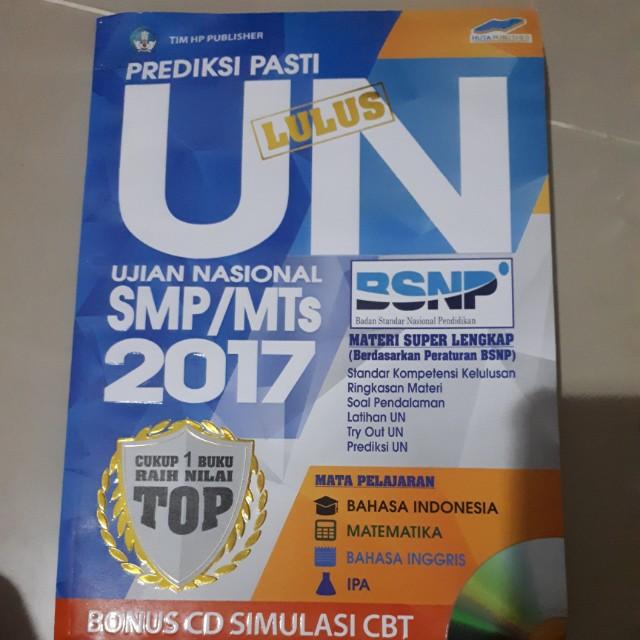 Prediksi UN 2017 smp