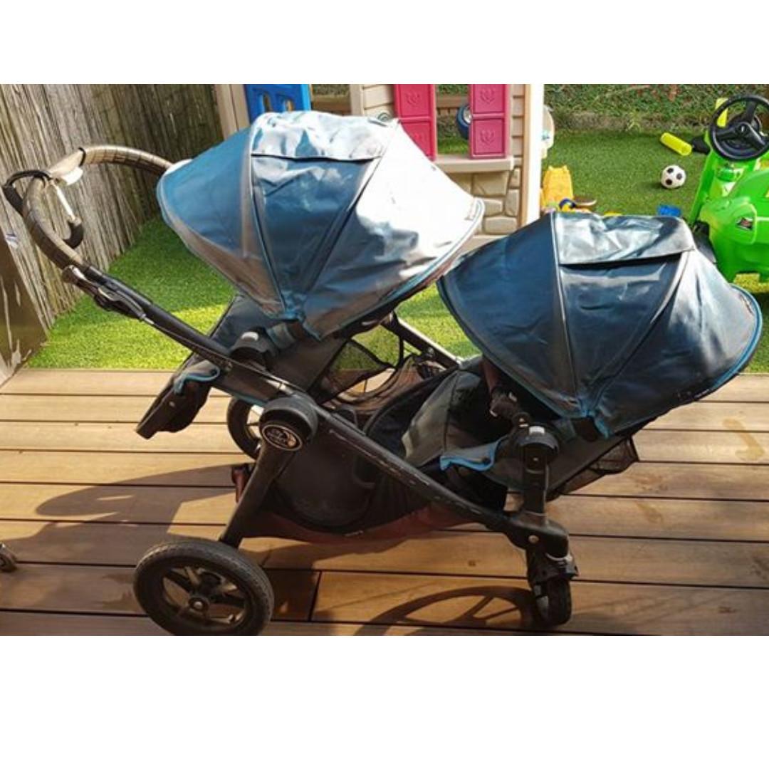 Preloved City Select Double Twin Pram Stroller