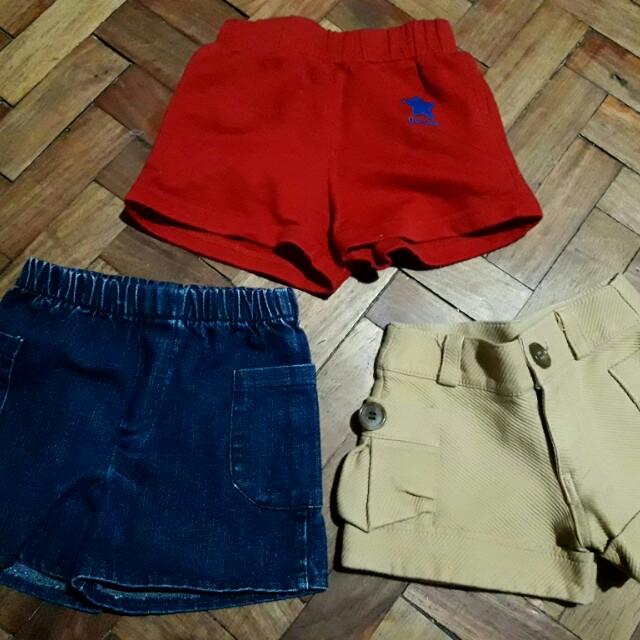 Preloved infant shorts