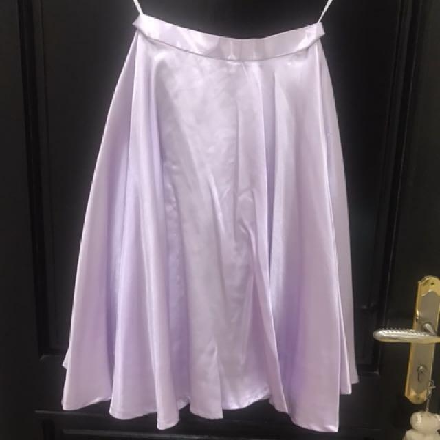 PRELOVED Rok klok lilac
