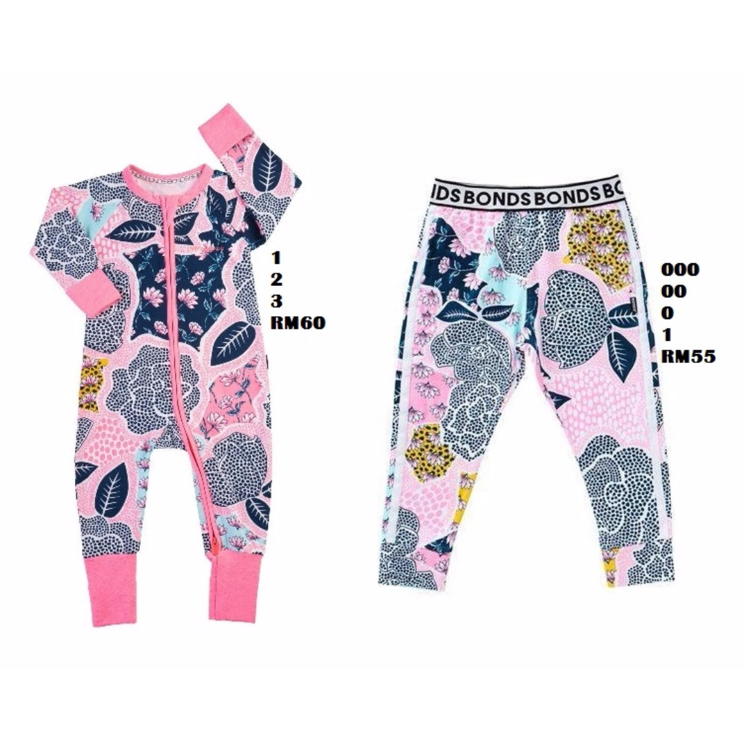 PRE-ORDER BONDS Zippy Wondersuit, Romper, Tee, Trackie