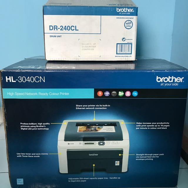 Printer Brother HL-3040CN , DRUM UNIT DR-240CL