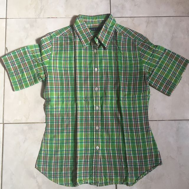 Ralph laurent green shirt