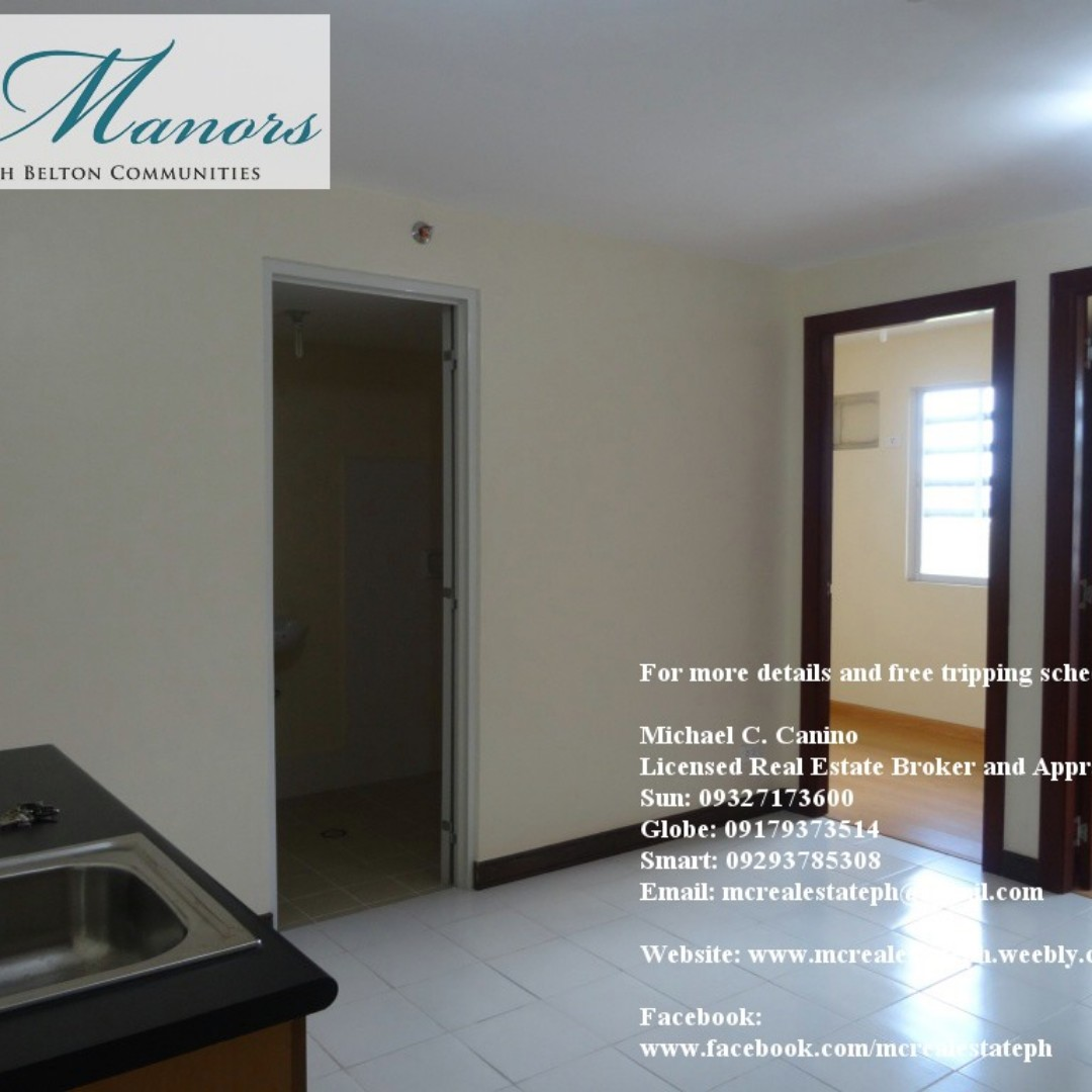 Ready for Occupancy (RFO) Condominium Unit at The Manors (North ...