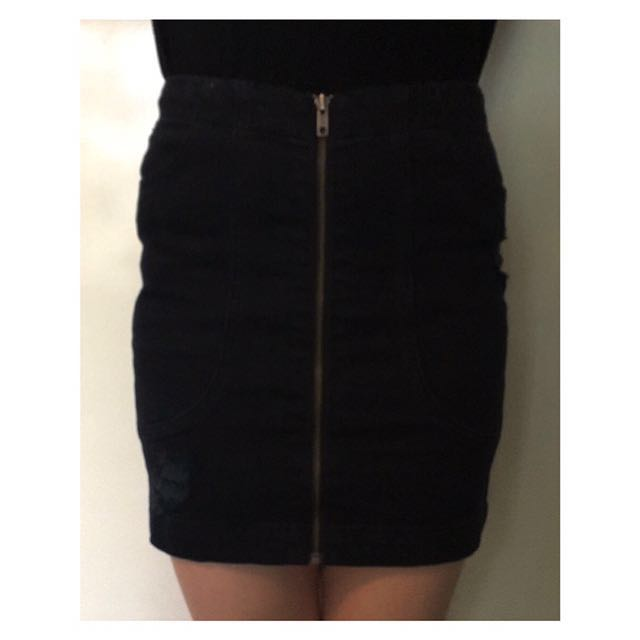 Riders by Lee Denim Skirt