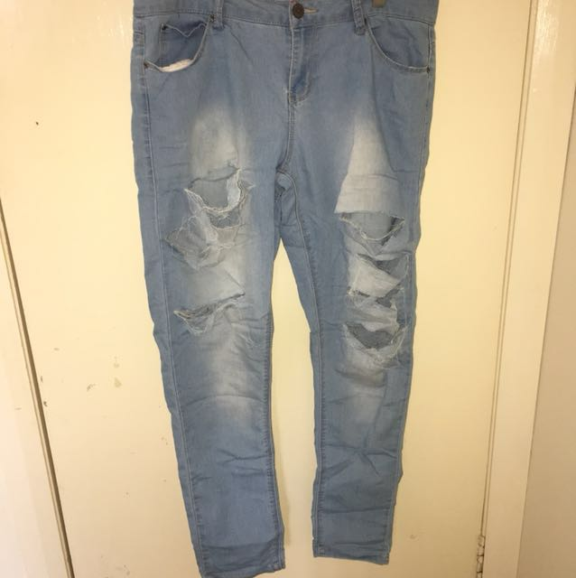Ripped Jeans size 14