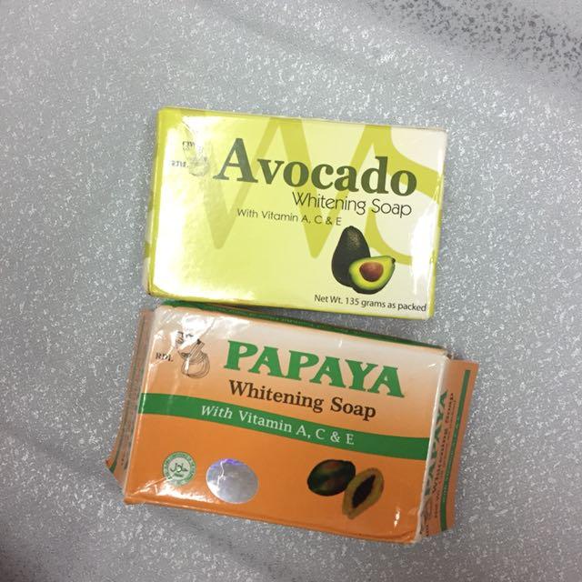 SABUN RDL PAPAYA AND AVACADO