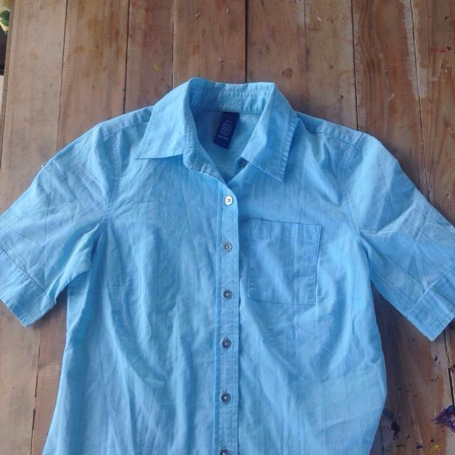 Short Sleeves Button Up